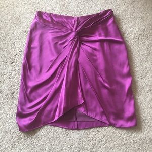 Elizabeth and James 💯 % silk skirt.